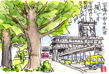 今はない平塚市役所旧庁舎