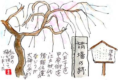 江戸虎ノ門と平塚を結んだ中原街道。名前の由来は平塚中原です。